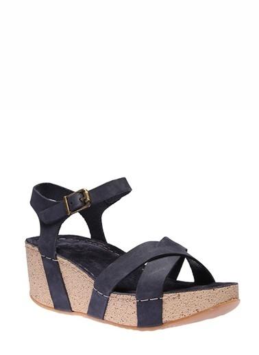 İnci Sandalet Lacivert